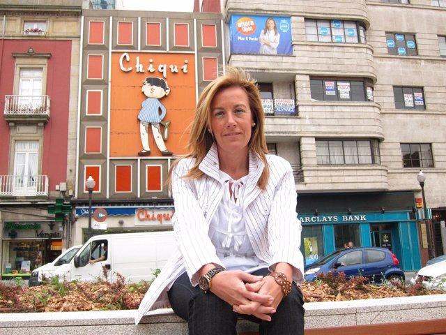 La Candidata Del PP A La Alcaldía De Gijón, Pilar Fernández Pardo