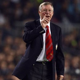 alex ferguson entrenador del manchester united