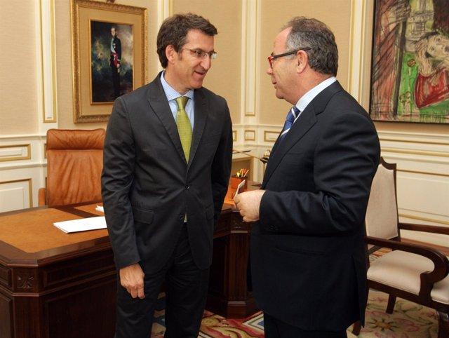 O presidente galego, Alberto Núñez Feijóo, recibirá ao alcalde en funcións de Sa