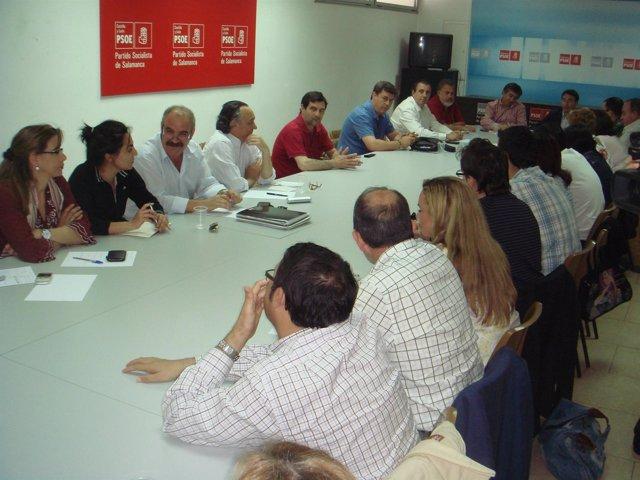 Reunión De La Comisión Ejecutiva Del PSOE De Salamanca