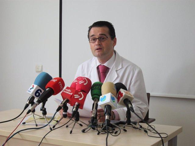 El Director Del Banco De Sangre Y Tejidos De Navarra, Pablo Rodríguez.
