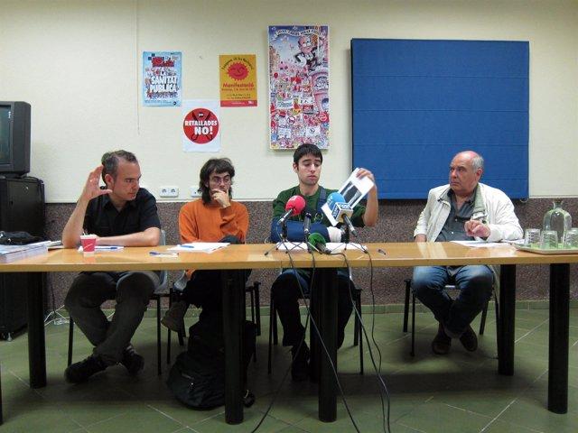 Jordi Bonet (Favb), Joan Roura, David Carmona Y Lluís Rabell (Favb)