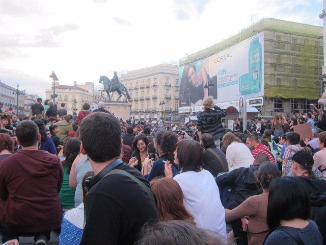 Protestas En Sol Movimiento 15M