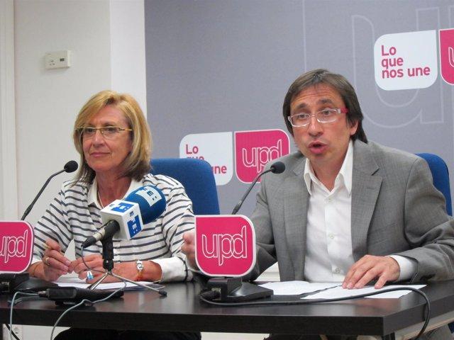 Rosa Díez Y Ramón Marcos, De Upyd