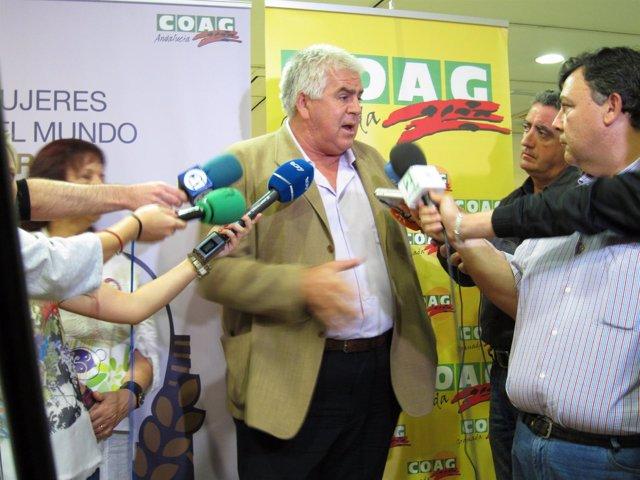El Secretario General De COAG, Miguel López.