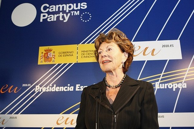 Neelie Kroes Por Campuspartyeuropa CC Flickr