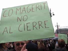 IU-CM exige a la Comunidad la rehabilitación inmediata del Magerit que garantice el regreso de los trabajadores