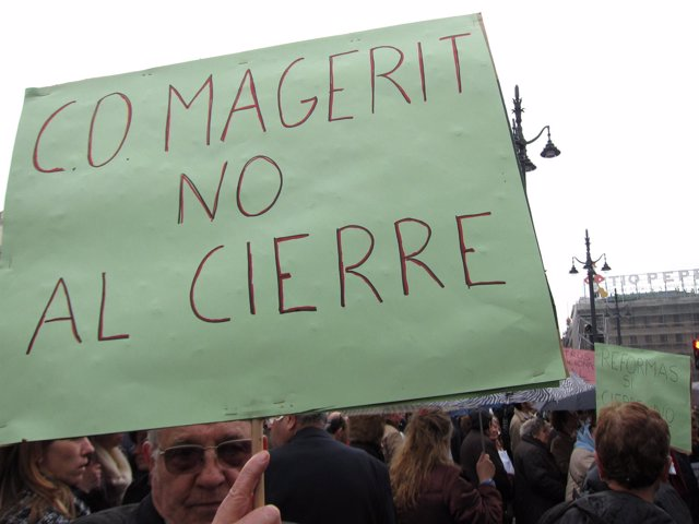 Afectados por el cierre del Magerit y otros centros ocupacionales