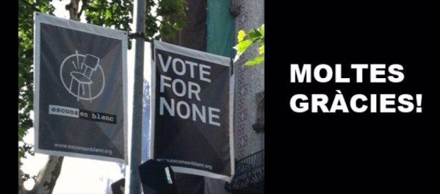 Propaganda Electoral De Escons En Blanc
