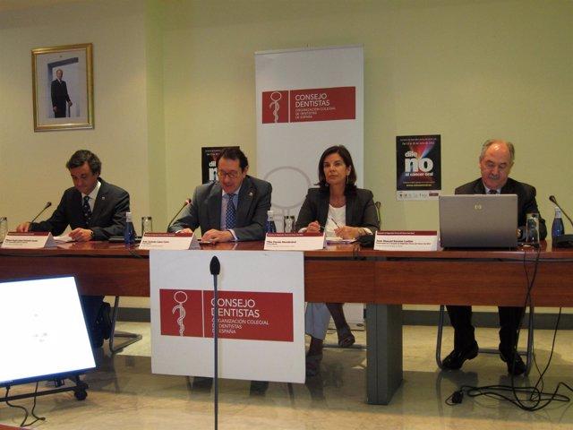 Presentación De La Campaña De Diagnóstico Precoz Del Cáncer Oral 2011.