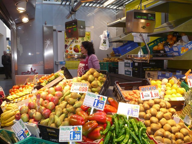 Frutería, fruta y verdura