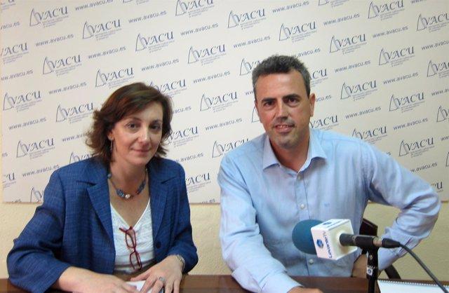 Presidente De AVACU, Fernando Móner Y Experta En Nutrición Montaña Cámara