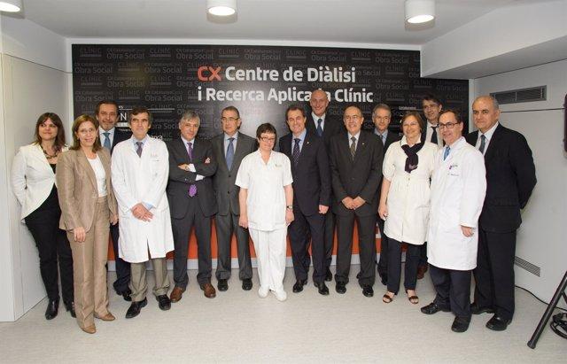 Inauguración Centro De Diálisis E Investigación Aplicada De Barcelona