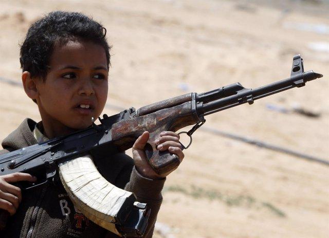 Niño Rebelde Libio