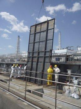 Planta Nuclear En Fukushima, En Japón