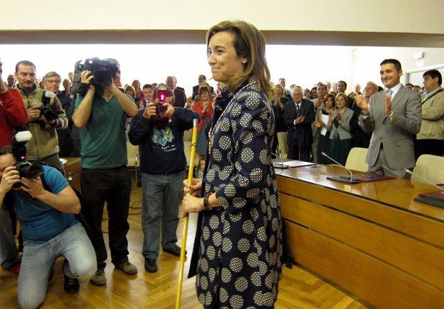 Cuca Gamarra, Primera Alcaldesa De Logroño