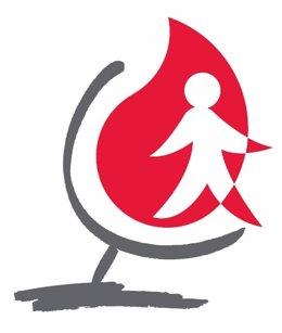 Logotipo Del Día Mundial Del Donante De Sangre
