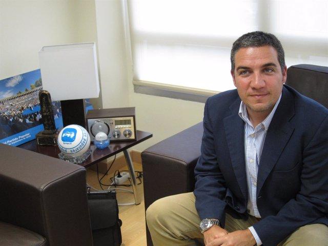 Elías Bendodo, Presidente Del PP De Málaga Y De La Diputación