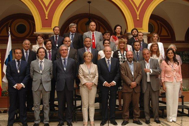 La Corporación Municipal Del Ayuntamiento De Huelva.