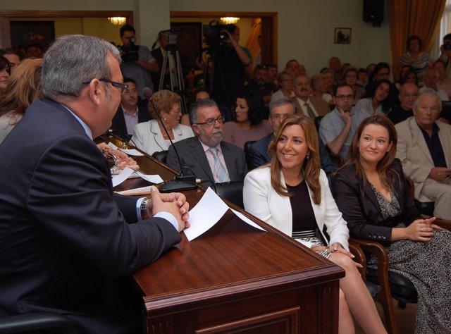 Díaz En La Constitución Del Ayuntamiento De San Juan