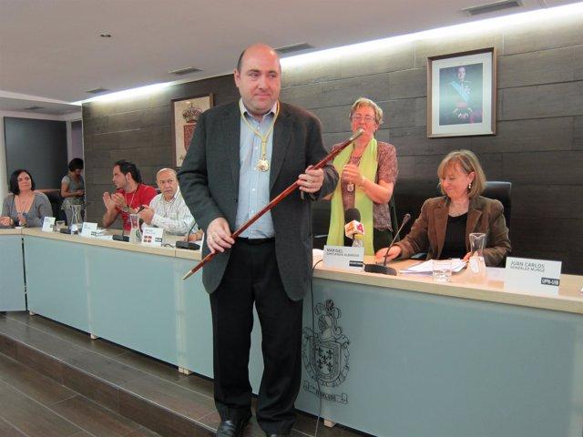 El Nuevo Alcalde De Burlada,  Juan Carlos González.