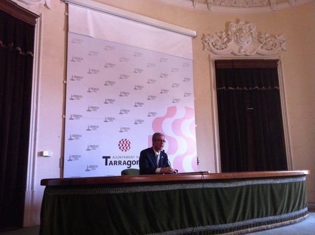 Josep Fèlix Ballesteros, Alcalde De Tarragona Del PSC