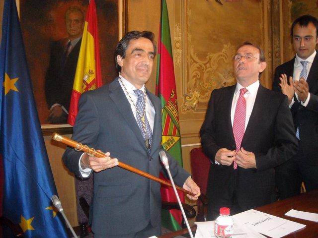 Ildefonso Calderón Asume La Alcaldía De Torrelavega