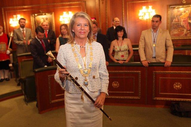 La Alcaldesa De Marbella, Ángeles Muñoz (PP)