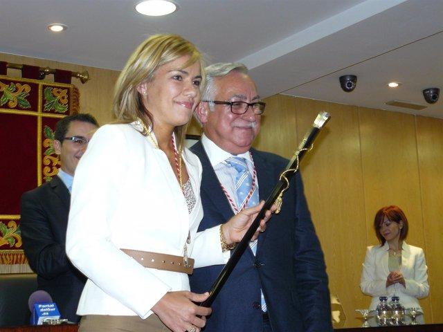 Miriam Rabaneda, En Su Investidura Como Alcaldesa