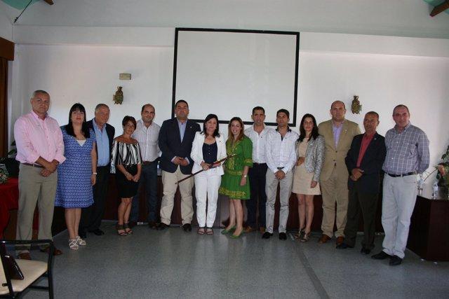 Corporación Municipal De Casares Con Antonia Morera Como Alcaldesa