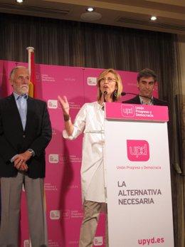 Rosa Díez Celebra Los Resultados De Las Elecciones Del 22 De Mayo