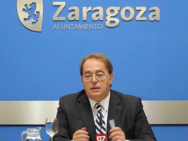 Carlos Pérez Anadón, Portavoz PSOE En El Ayuntamiento De Zaragoza