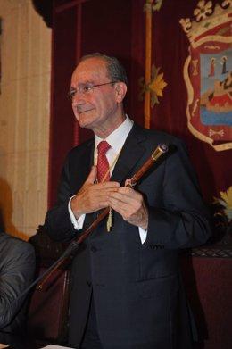 Francisco De La Torre Tras Ser Investido Alcalde De Málaga