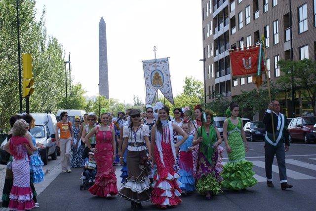 Romería Del Rocío En Zaragoza