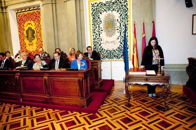 Toma De Posesion De Los Concejales En Cartagena