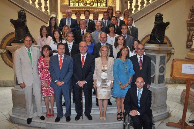 Nueva Corporación Del Ayuntamiento De Málaga
