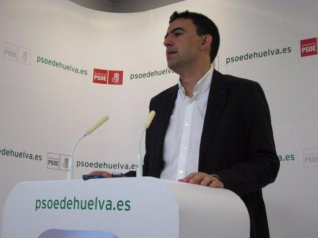 El Secretario General Del PSOE De Huelva, Mario Jiménez.