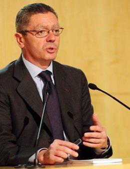 El alcalde de Madrid, Alberto Ruiz Gallardón