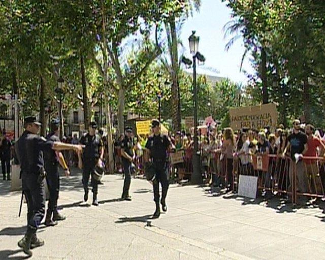 Indignados Este Sábado En Sevilla