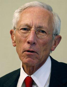 El Gobernador Del Banco De Israel, Stanley Fischer