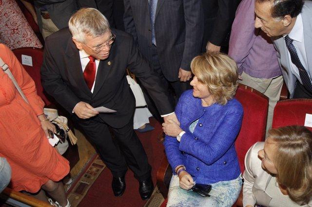 Castro Y Aguirre, En La Toma De Posesión De Soler