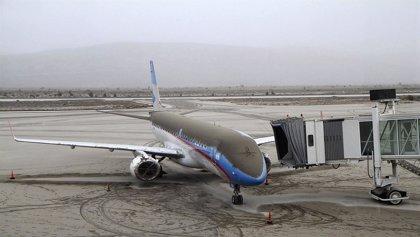 Cancelan las operaciones en los aeropuertos de Buenos Aires y Montevideo
