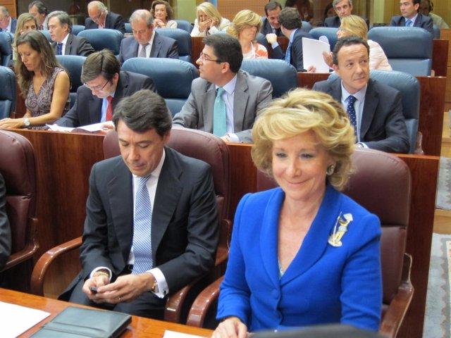 Esperanza Aguirre En La Asamblea