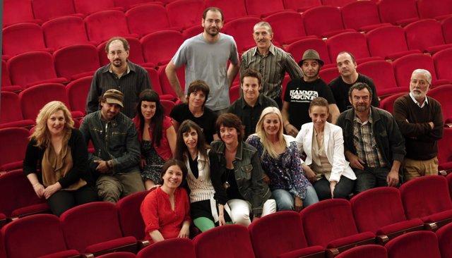 Participantes En El Ciclo 'San Fermín, A Escena' En El Teatro Gayarre.