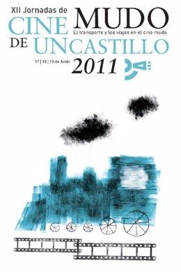 Cartel Anunciador De Las XII Jornadas De Cine Mudo De Uncastillo