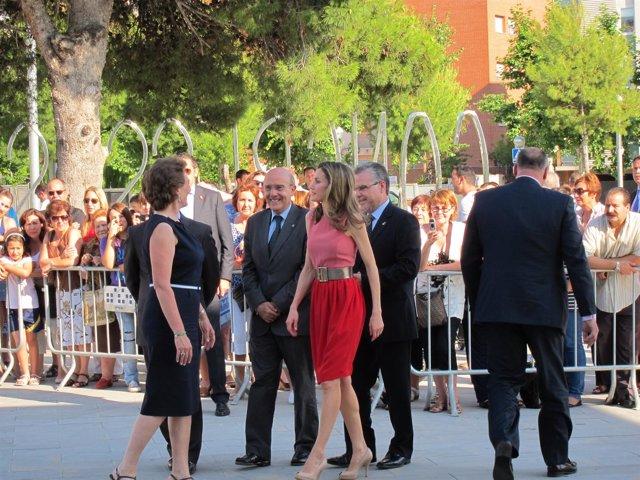 El Conseller Boi Ruiz Y La Princesa Letizia