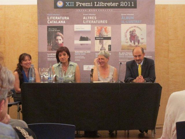 Blanca Busquets, Ganadora Del Premio Llibreters