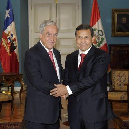 """Chile/Perú.- Piñera y Humala expresan su disposición de resolver """"cualquier problema"""""""
