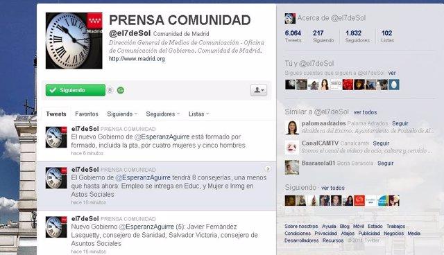 La Comunidad De Madrid Desvela Por Twitter La Composición De Su Gobierno