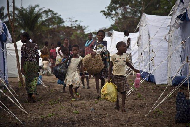 Refugiados en Costa de Marfil